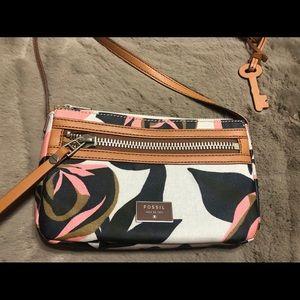 Fossil crossbody bag with key charm